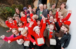 St Erth Community Primary help celebrate our good news