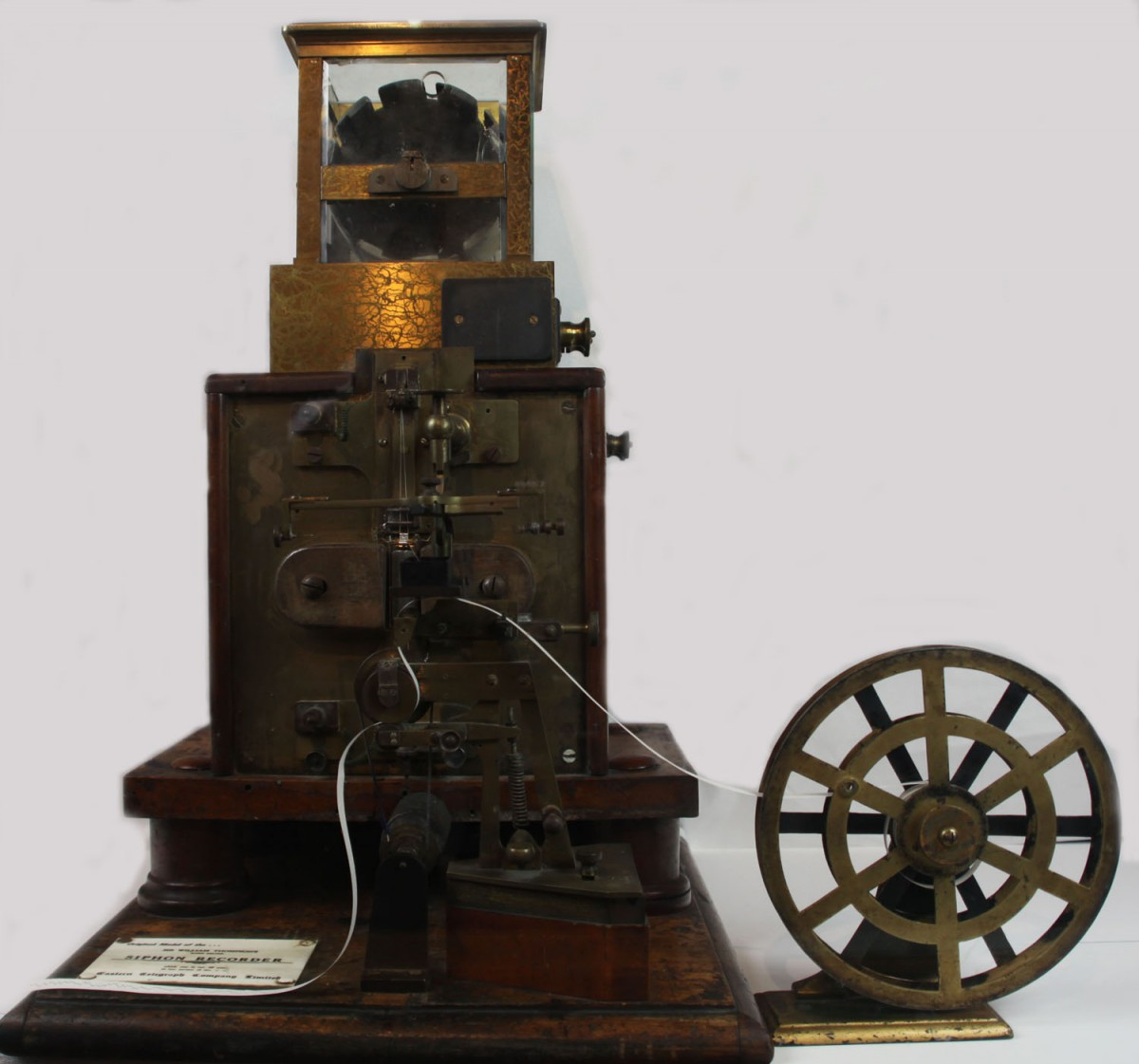 Lord Kelvin's Siphon Recorder