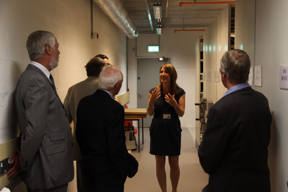 Archive Tour with Charlotte, Collections Manager