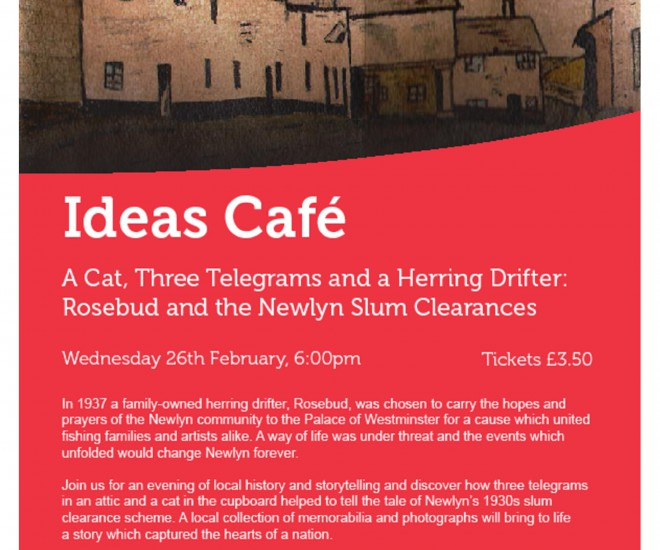 Ideas Cafe 26th February 2014