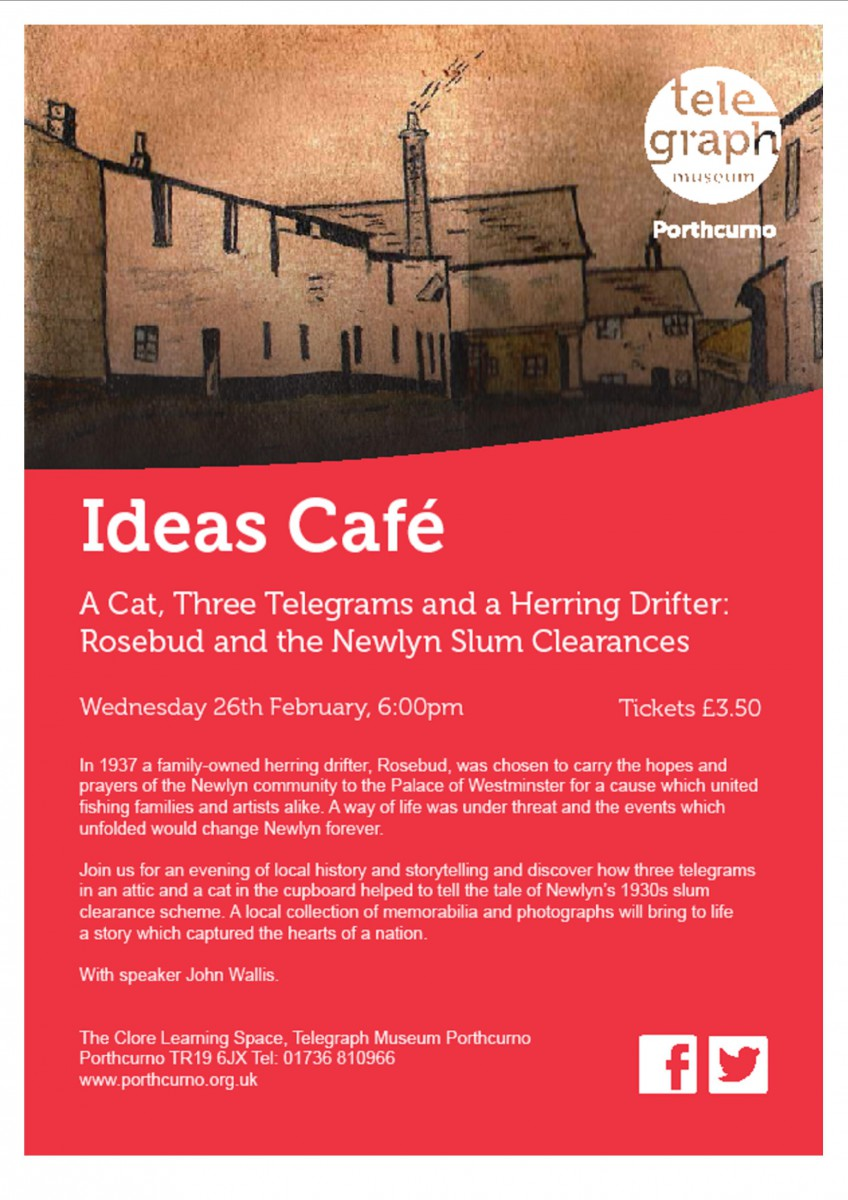 Ideas Cafe Wednesday 26th February 2014 6:00pm