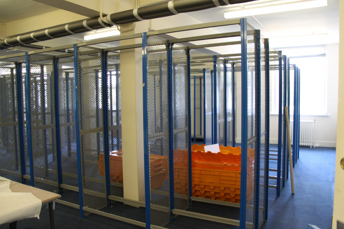 Empty Archive - Awaiting the builders who would transform the old Archive into a new Archive Store and staff offices