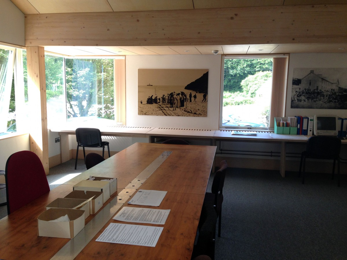 Archive Search-room - Our beautiful new research space