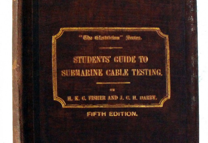 'Students' Guide to Submarine Cable Testing'