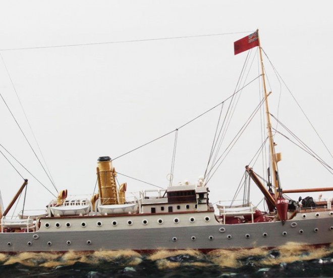 Cableship 'Lord Kelvin' model