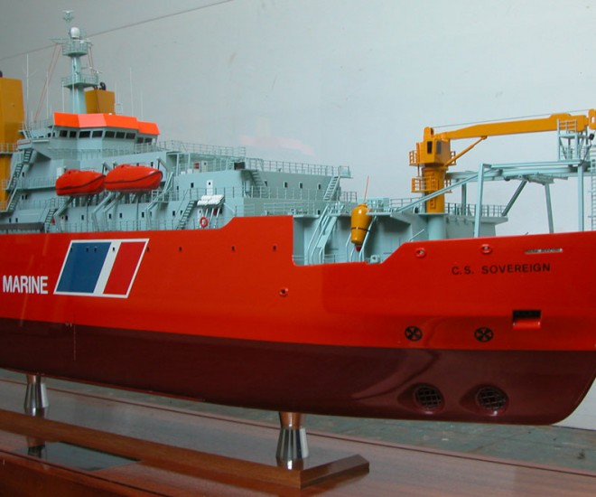 Cableship 'Sovereign' model