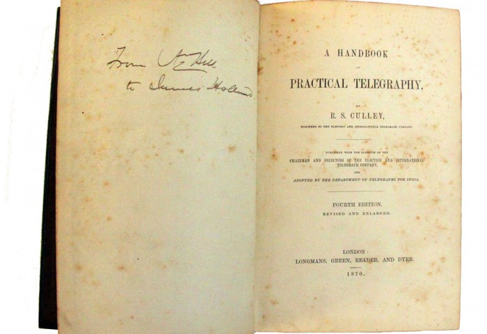 'A Handbook of Practical Telegraphy'