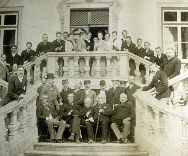Carcavellos telegraph station staff