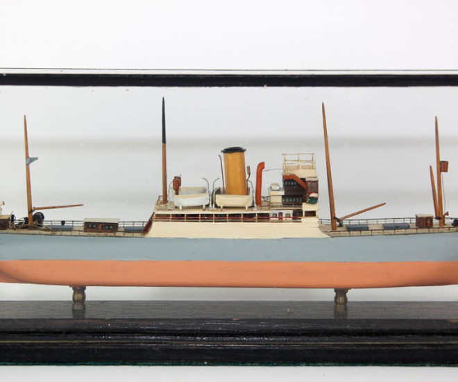 Cableship 'Dominia' model