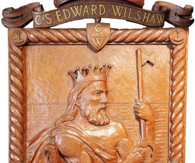 Cableship 'Edward Wilshaw' plaque