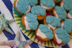 Fairy cakes for a children's party