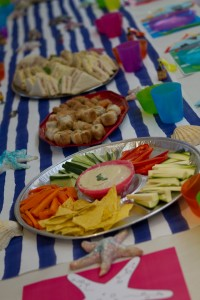 Children's party food