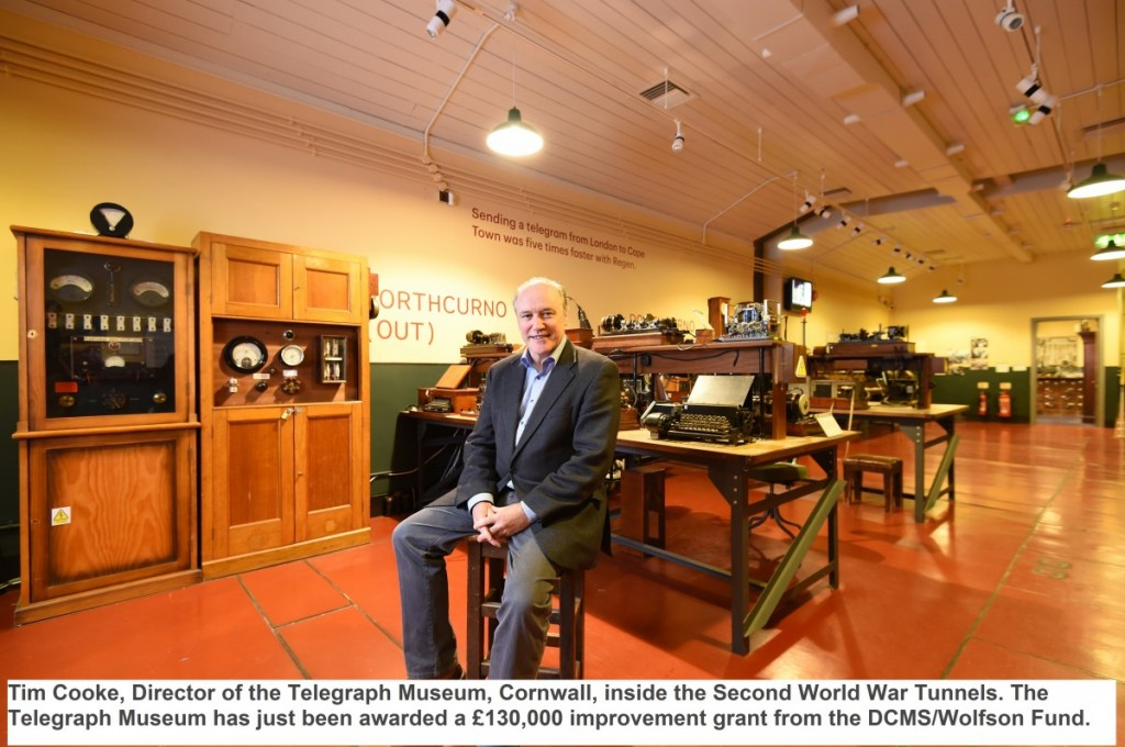 Cornwall's Telegraph Museum gets new exhibition award of £130,000