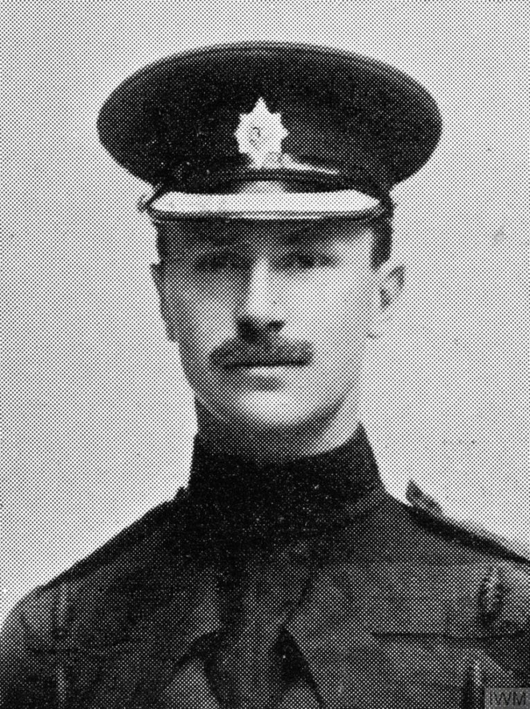 Stylised black and white photograph of Richard Charles Graves-Sawle, 1888 to 1914.