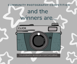 and the winners are, graphic with picture of camera