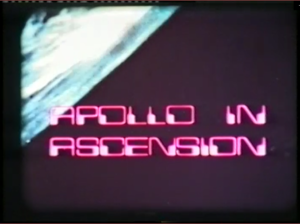 Film still from Cable and Wireless commissioned film titled Apollo in Ascension, narrated by actor Julian Glover from Game of Thrones and Star Wars.